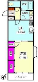 メゾン南馬込51 205号室