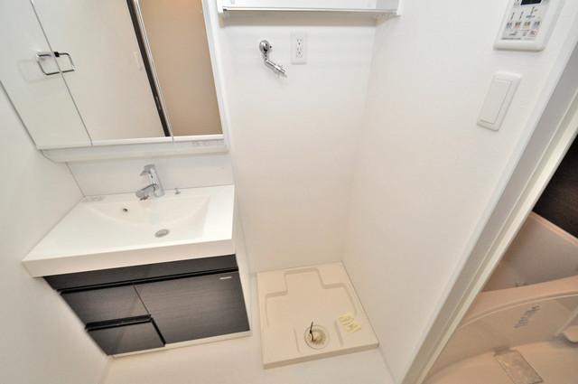 InfieldⅢ(インフィルドⅢ) 嬉しい室内洗濯機置場。これで洗濯機も長持ちしますね。