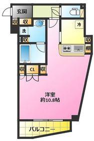 メゾン プレール ムサシコスギ2階Fの間取り画像