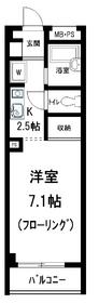 メゾン宝田3階Fの間取り画像