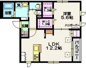 AlteLiebe・KAMATA2階Fの間取り画像