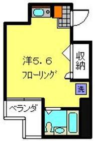 アルス佐藤5階Fの間取り画像