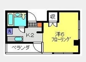 志村ハイム2階Fの間取り画像