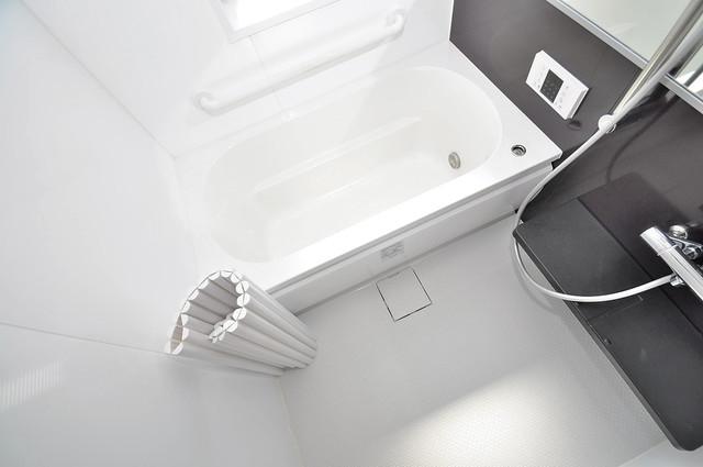 シャーメゾン友井 ちょうどいいサイズのお風呂です。お掃除も楽にできますよ。