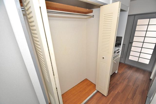 ダイヤモンドメゾン高井田 もちろん収納スペースも確保。いたれりつくせりのお部屋です。