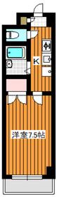 ブロードハーモニー3階Fの間取り画像