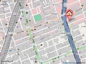 神田駅 徒歩6分案内図