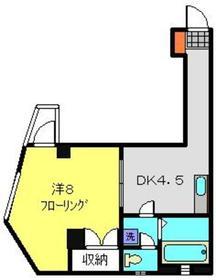 ヒルズガーデン小泉3階Fの間取り画像