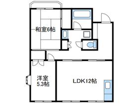 ドミールさがみ野Ⅱ3階Fの間取り画像