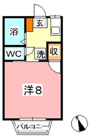 キッコウハイネス B2階Fの間取り画像