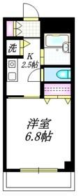 梅ヶ丘駅 徒歩8分3階Fの間取り画像