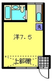 ニューライフ横浜2階Fの間取り画像