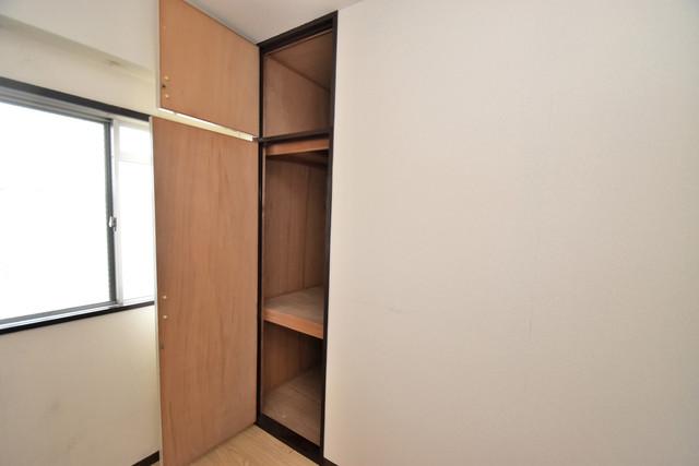 サンサーラ・タツミ もちろん収納スペースも確保。いたれりつくせりのお部屋です。