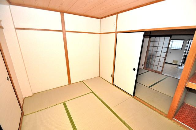ロイヤルハイツ八戸ノ里 もう一つの癒しの空間。和室です。