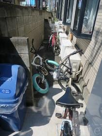 自転車置けますよ♪