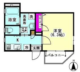 クレール藤田 101号室