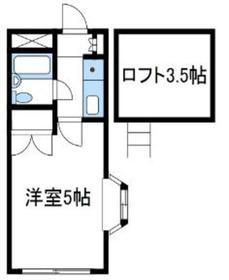 リモード本厚木B棟2階Fの間取り画像