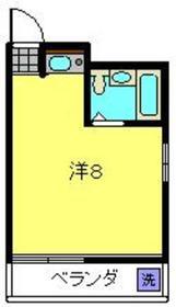 セピアコート2階Fの間取り画像