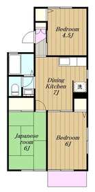 クオーレ中屋敷22階Fの間取り画像