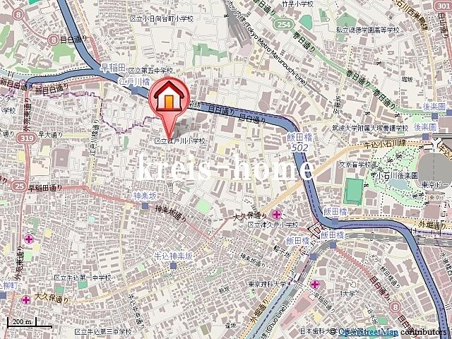 DUO神楽坂案内図