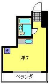 モルゲンロート蒔田5階Fの間取り画像