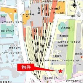 品川Vタワー タワー棟案内図