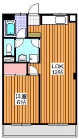 成増駅 徒歩2分9階Fの間取り画像