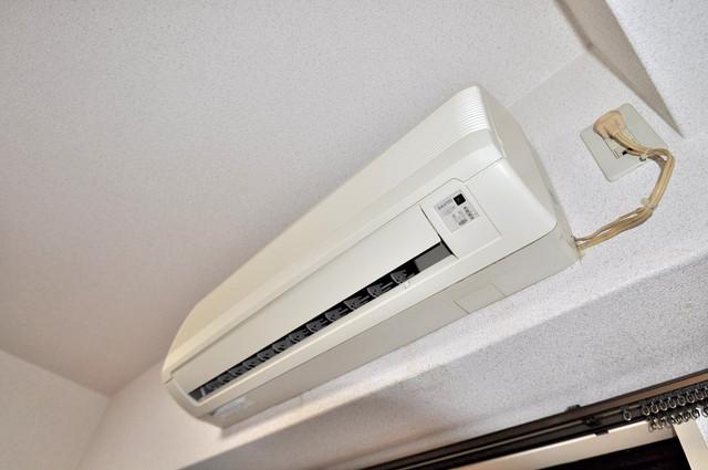 フィオレ源氏ケ丘 うれしいエアコン標準装備。快適な生活が送れそうです。