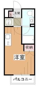 プライムアーバン久米川8階Fの間取り画像