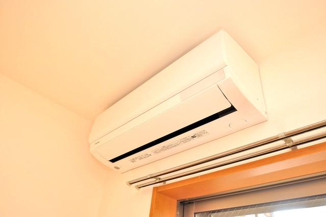 フレンテ田中 エアコンがあるのはうれしいですね。ちょっぴり得した気分。
