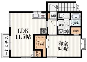 メゾンK成城2階Fの間取り画像