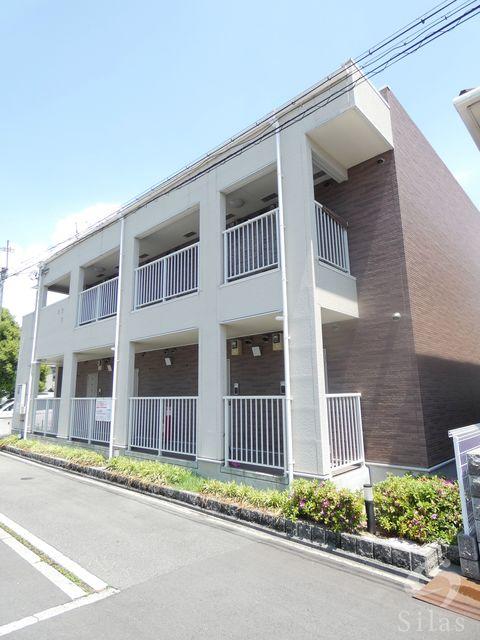 堺市堺区南旅篭町東2丁の賃貸アパートの外観