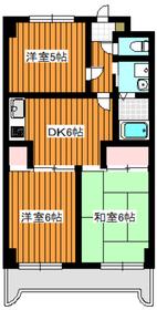 東武練馬駅 徒歩13分3階Fの間取り画像