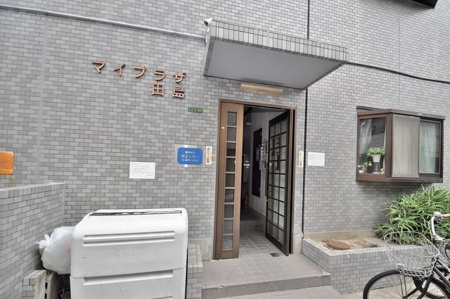 マイプラザ田島 エントランス内には各部屋毎のメールボックスがあります。