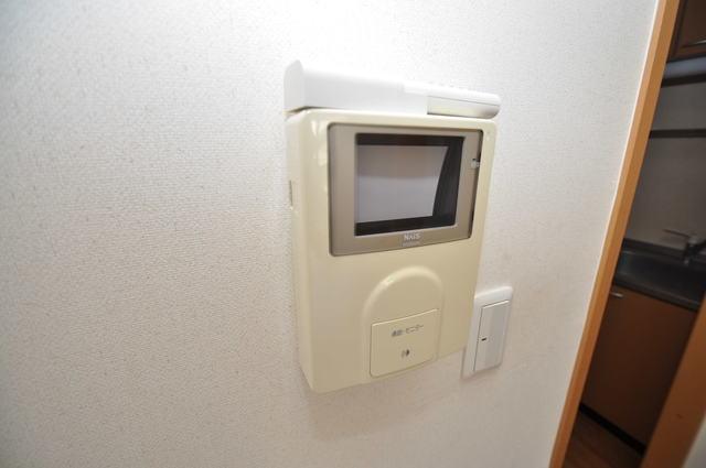 メゾンドゥエスポワール TVモニターホンは必須ですね。扉は誰か確認してから開けて下さいね
