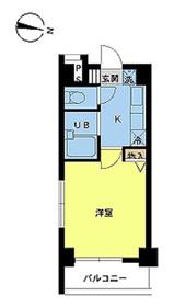 スカイコートヌーベル新宿落合3階Fの間取り画像