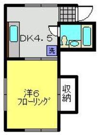 メゾン菅谷1階Fの間取り画像
