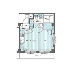 トーシンフェニックス新高円寺参番館6階Fの間取り画像