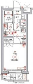 セジョリ横浜鶴見5階Fの間取り画像