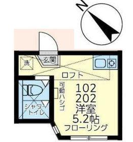 ユナイト井土ヶ谷トニー・ペレス2階Fの間取り画像