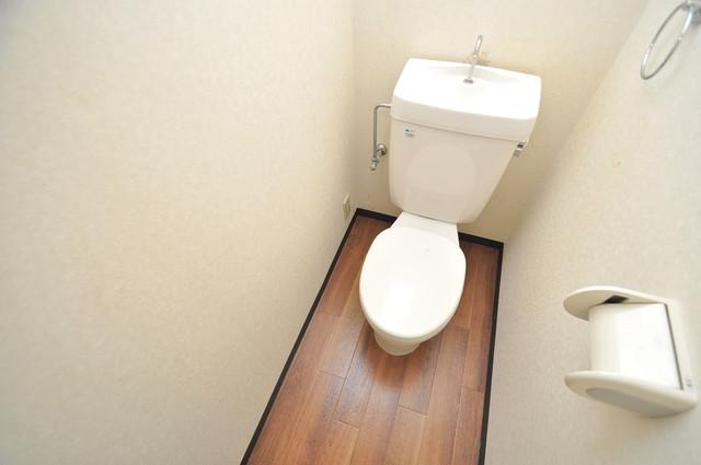 エスポワールⅡ スタンダードなトイレは清潔感があって、リラックス出来ます。