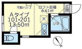 ユナイト大岡ギルバート・グレイプ1階Fの間取り画像
