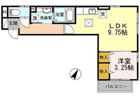 ベル・グラース2階Fの間取り画像