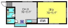 瀬戸ビル2階Fの間取り画像