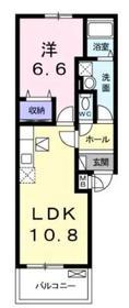 相模大塚駅 徒歩15分3階Fの間取り画像