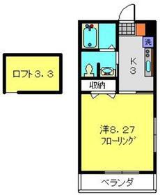 コンコード瀬谷1階Fの間取り画像