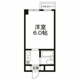 上野毛駅 徒歩21分5階Fの間取り画像