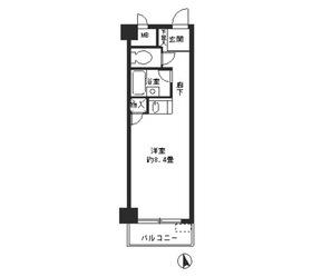モンテベルデ第2横浜5階Fの間取り画像