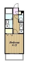 ロンラヴァン2階Fの間取り画像