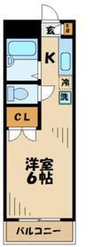 エトワール永山4階Fの間取り画像